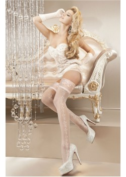 Ballerina White Hold Ups 119