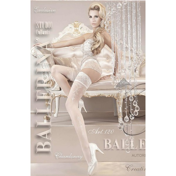 Ballerina White Hold Ups 120