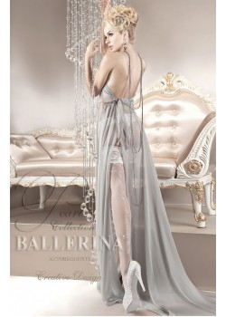 Ballerina White Hold Ups 123