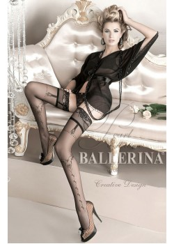 Ballerina Black Hold Ups 127