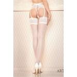Ballerina Lina White Hold Ups (BAL432)