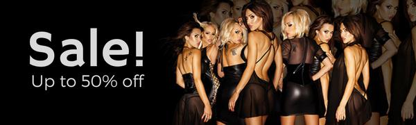 Lustre Lingerie sale banner erotic lingerie seductive lingerie