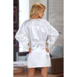 Fabienne Dressing Gown (White)