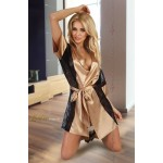 Stephanie Dressing Gown (Gold)