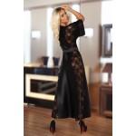 Bouquet Dressing Gown (Black)
