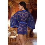 Paulette Dressing Gown (Blue)
