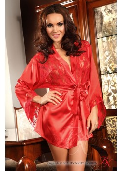 Prilance Dressing Gown (Red)