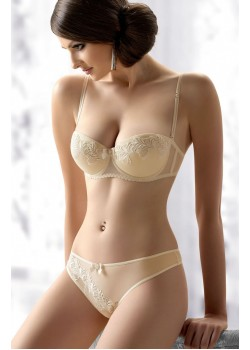 Evelyn Bra Set (Cream)