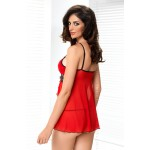 Mirabelle Babydoll Set (Red)