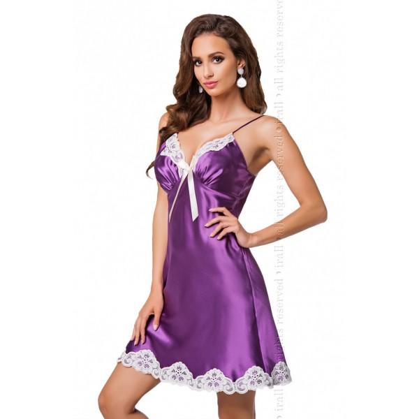 Alexandra Nightdress (Purple)