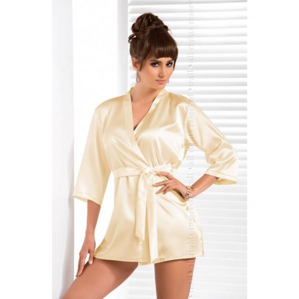 Aria Dressing Gown (Cream)