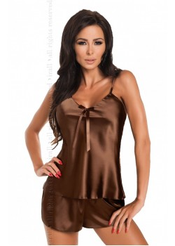 Aria Short Set (Chocolate)