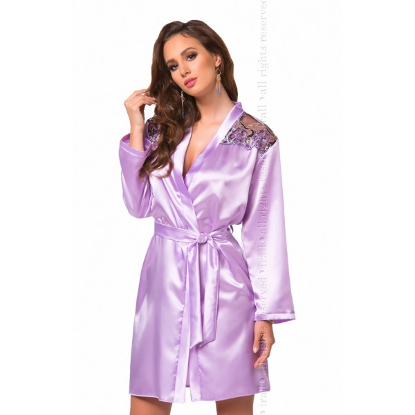 Olga Dressing Gown (Lavender)