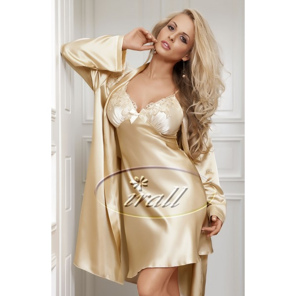 Parisa Dressing Gown (Gold)