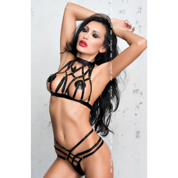 Aisha Bra Set (Black)