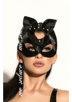 Black Bunny Mask