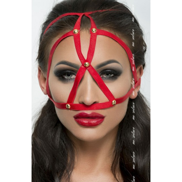 Cage Mask (Red)