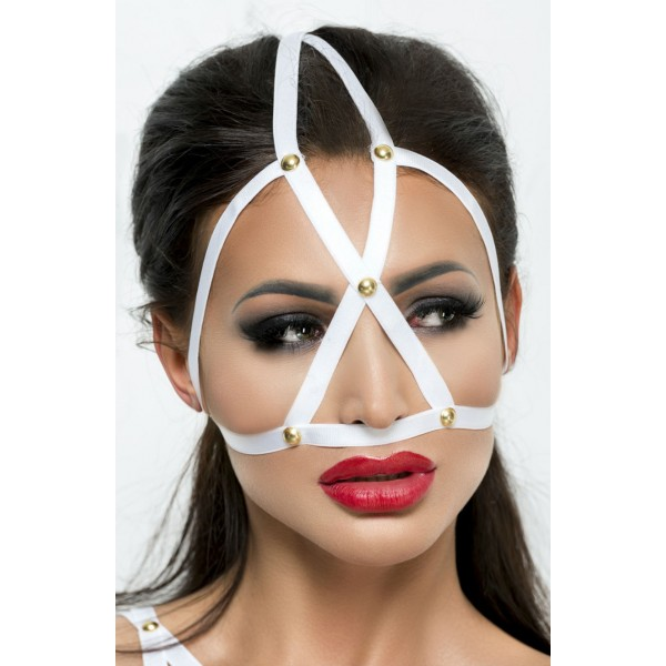 Cage Mask (White)