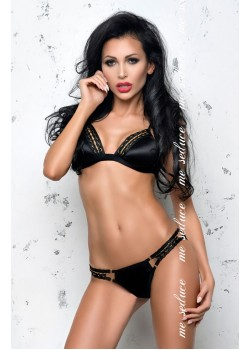 Isabella Bra Set (Black)