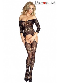 Jessie Bodystocking (Black)