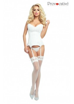 Virginia Corset (White)