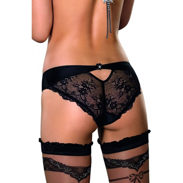 Ali Black Brief from Roza Lingerie