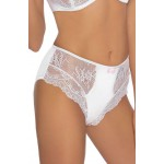 Ambre White Soft Cup Bra Set