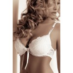 Carmen White Push Up Bra Set