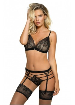 Cyria Soft Cup Bra Set