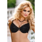 Kalisi Push Up Bra Set (Black)