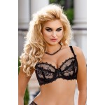 Kalisi Soft Cup Bra Set (Black)
