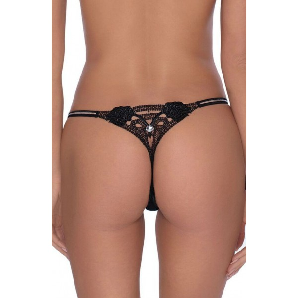 Lea Thong by Roza Lingerie (Black)