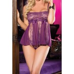 Ines Stretch Lace Babydoll